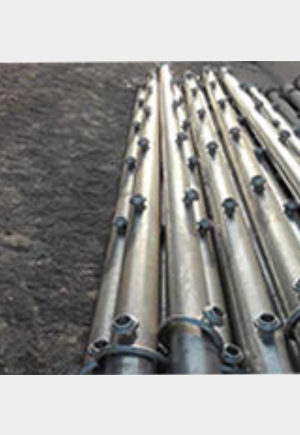 HEADER DISCHARGE PIPES